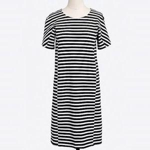 J. Crew Factory Striped Knit Dress